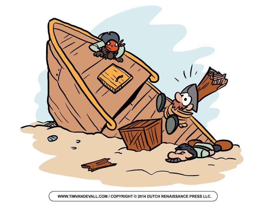 Shipwreck Pirate Clip Art.