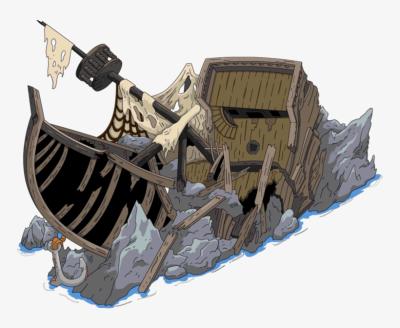 Shipwreck PNG.