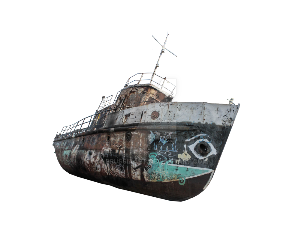 Shipwreck PNG Images.