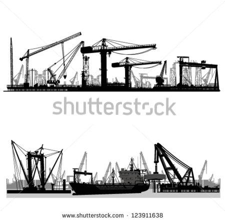 Shipyard Banco de Imagens, Fotos e Vetores livres de direitos.