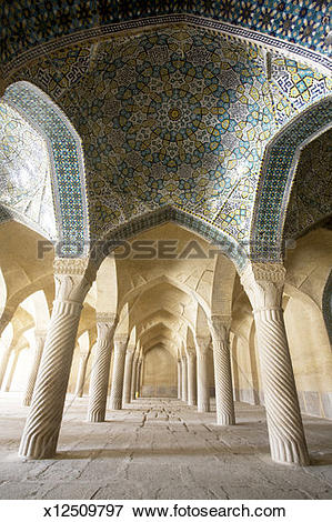 Picture of Iran, Shiraz, Vakil Mosque x12509797.