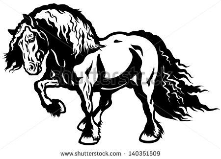 Draft Horses Stock Photos, Royalty.