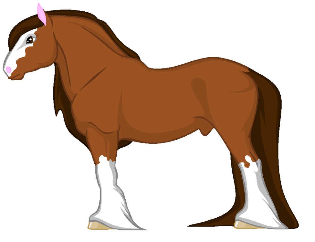 shire horse clipart clipground