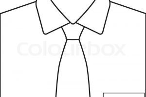 White shirt and tie clipart 5 » Clipart Portal.
