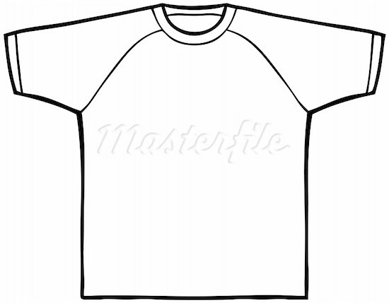 Shirt Clipart Black And White.