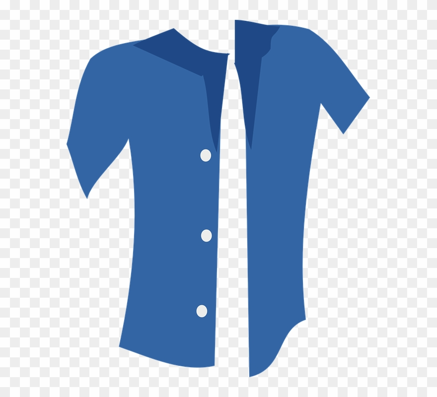 Dress Shirt Clipart Button Up Shirt.