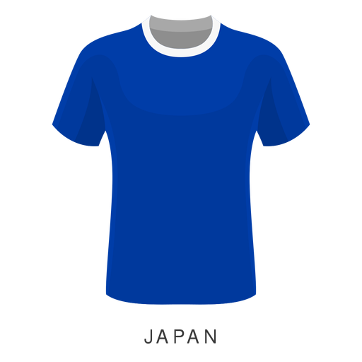 Japan world cup football shirt cartoon.