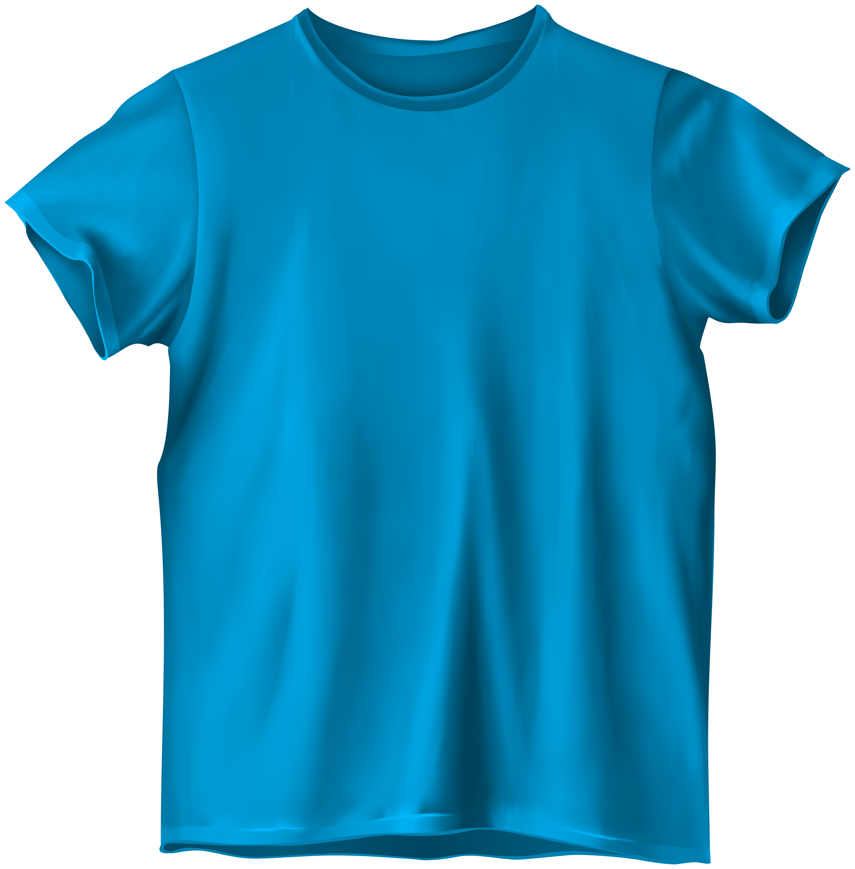 Blue T Shirt PNG Clipart.