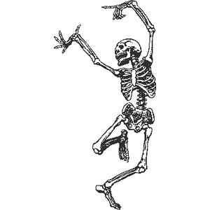 SKELETON DANCING.