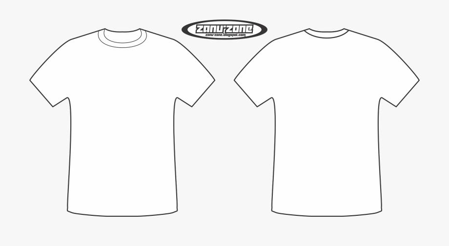 Vector T Shirt Template Photoshop.