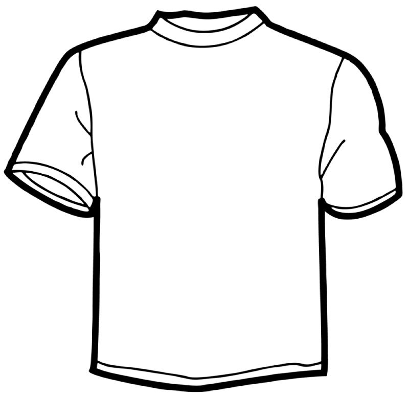 12 Online T Shirt Template Free Cliparts That You Can.