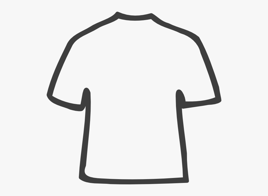 Tshirt Clipart Shirt Outline.