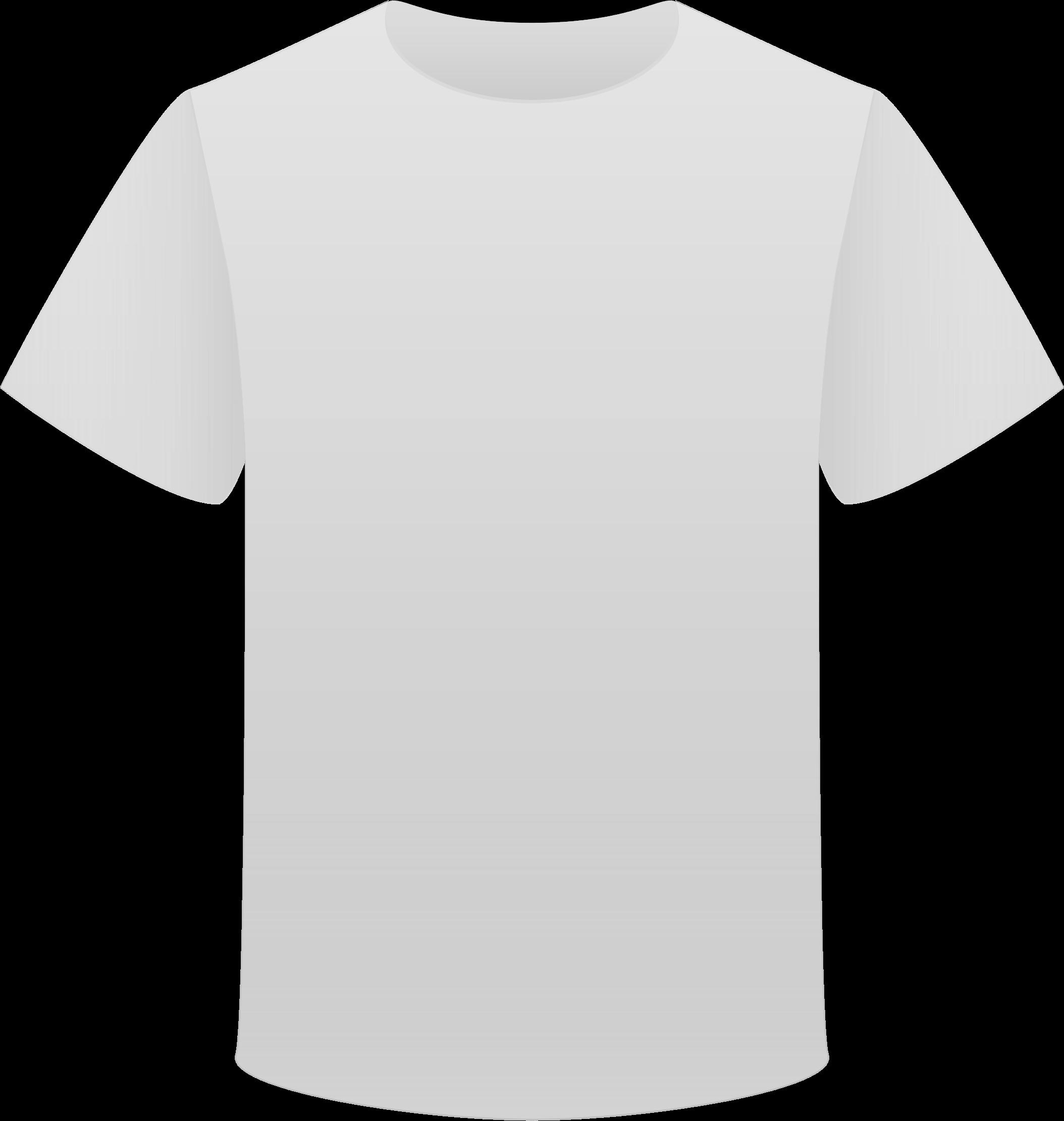 Tshirt White Clipart transparent PNG.