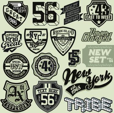 Vintage t shirt logo designs free vector download (77,818.