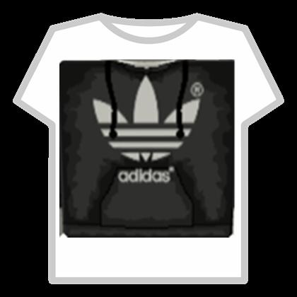 Black adidas T.