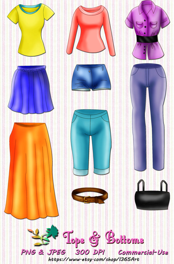 Shirts And Pants Clipart Clipground