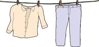 Shirts And Pants Clipart.