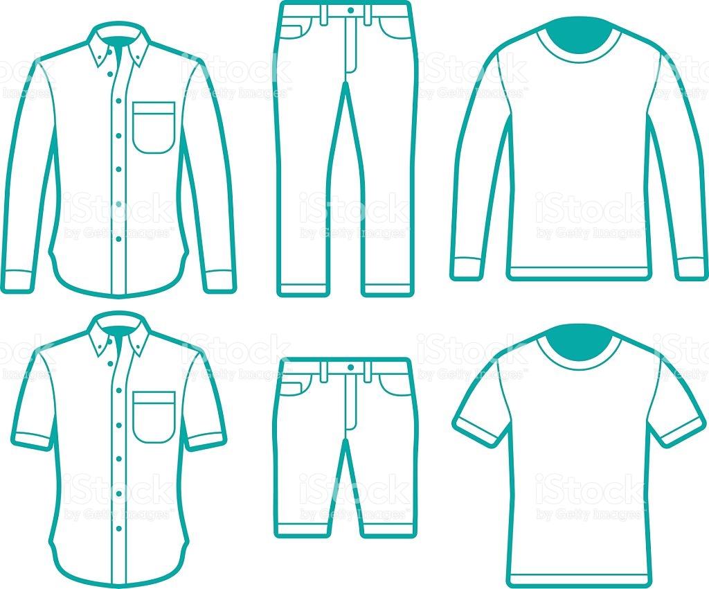 Shirt And Pants Clipart.