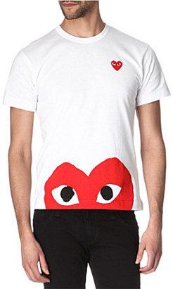 Buy shirt with heart logo.