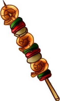 Shish Kebab Clipart.