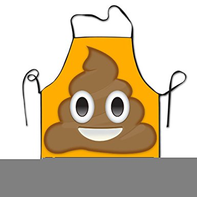 Amazon.com: Shithappens Emoji Shit Face Apron Cooking Apron.