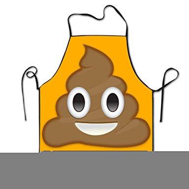 Amazon.com: Shithappens Emoji Shit Face Apron Cooking Apron.