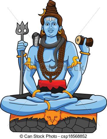 Shiva clipart #7