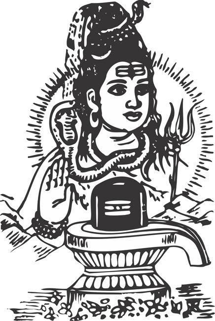 Lord shiv clipart.