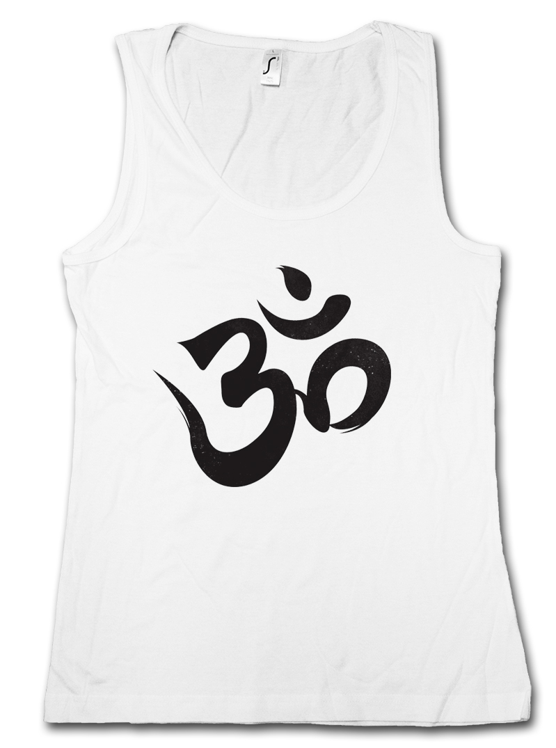 Details about OM SIGN LOGO TANK TOP VEST.