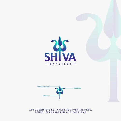 Shiva Logo und Social.