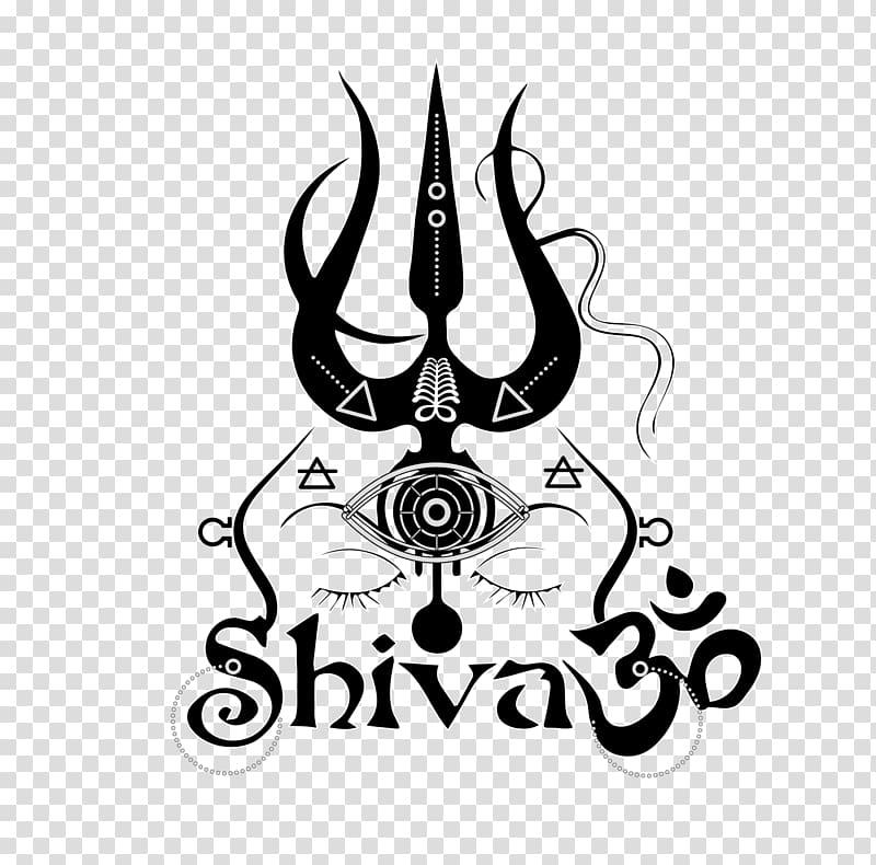 Shiva logo, Shiva Graphic design Line art, SHIVA transparent.