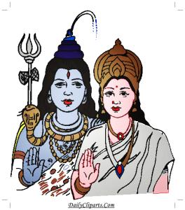 Shiva Parvati Image.