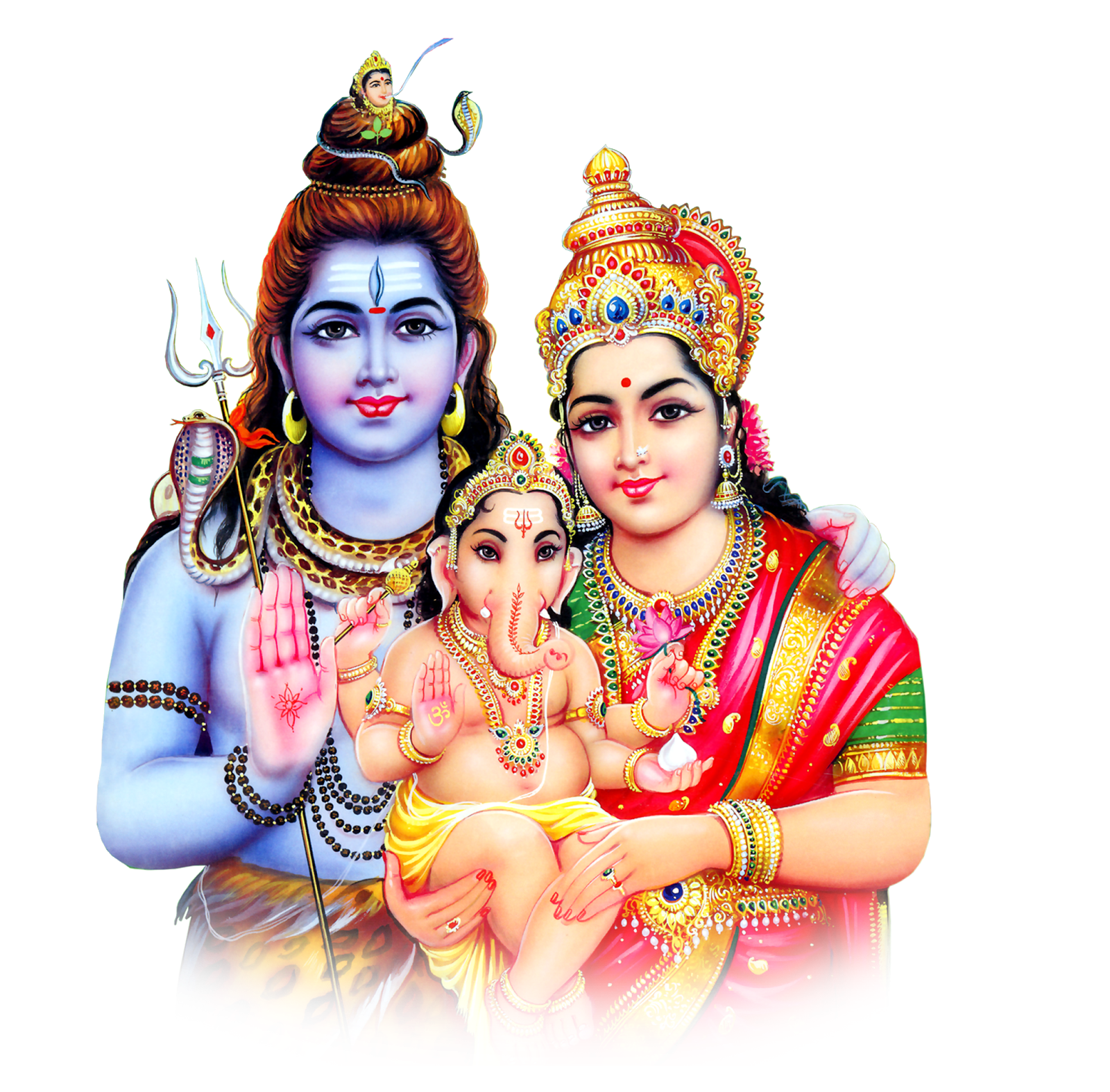 Lord Shiva PNG Image.