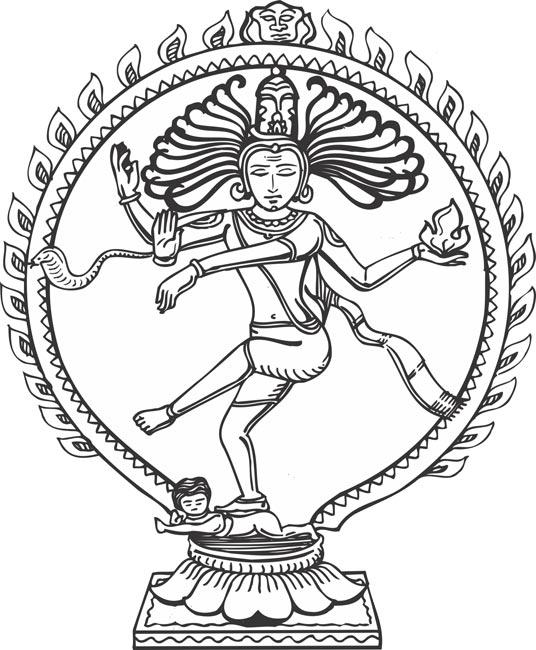 Shiva Clip Art.