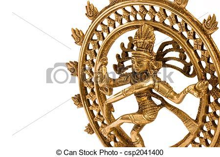 Stock Photography of Statue of Shiva Nataraja.