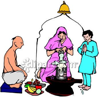 India and shivratri clipart image.