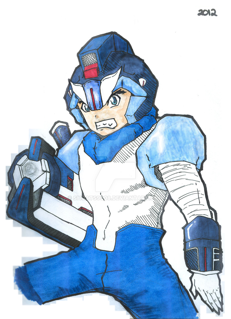 Megaman by Reginald Shoats by shoats9008 on DeviantArt.