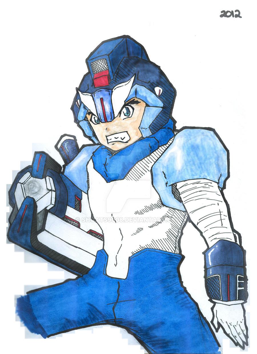 Megaman by Reginald Shoats by shoats9008 on DeviantArt.