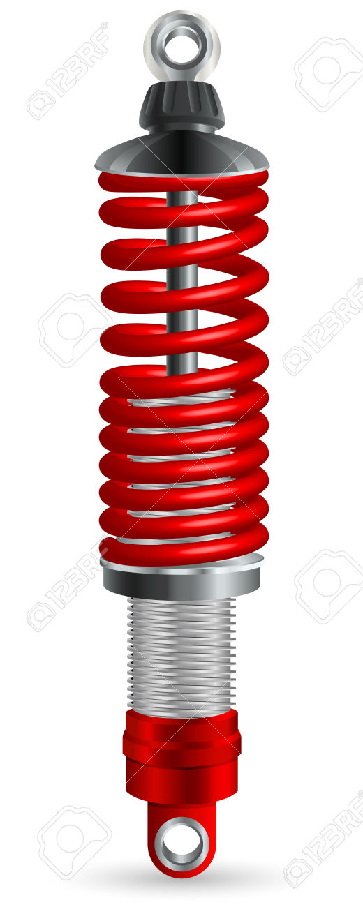 Shock Absorber For Sports Car Royalty Free Cliparts, Vectors, And.