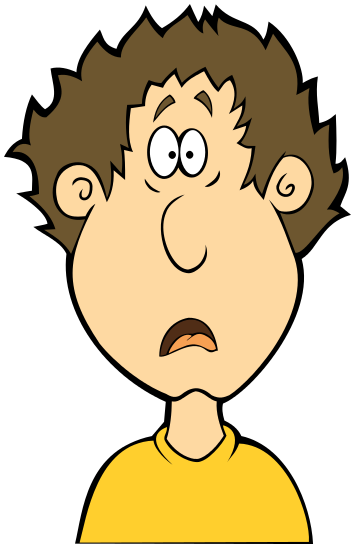 Shocked Clipart.