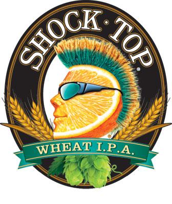 Shock Top Brewing Co. Wheat IPA.