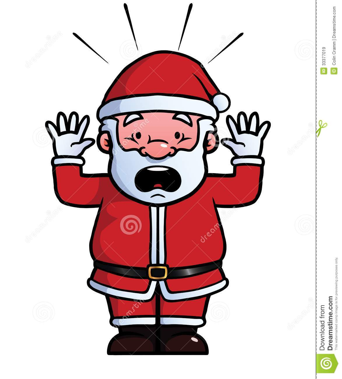Showing post & media for Surprised santa cartoon.