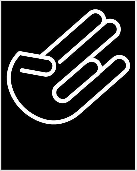 The Shocker Logo Poster.