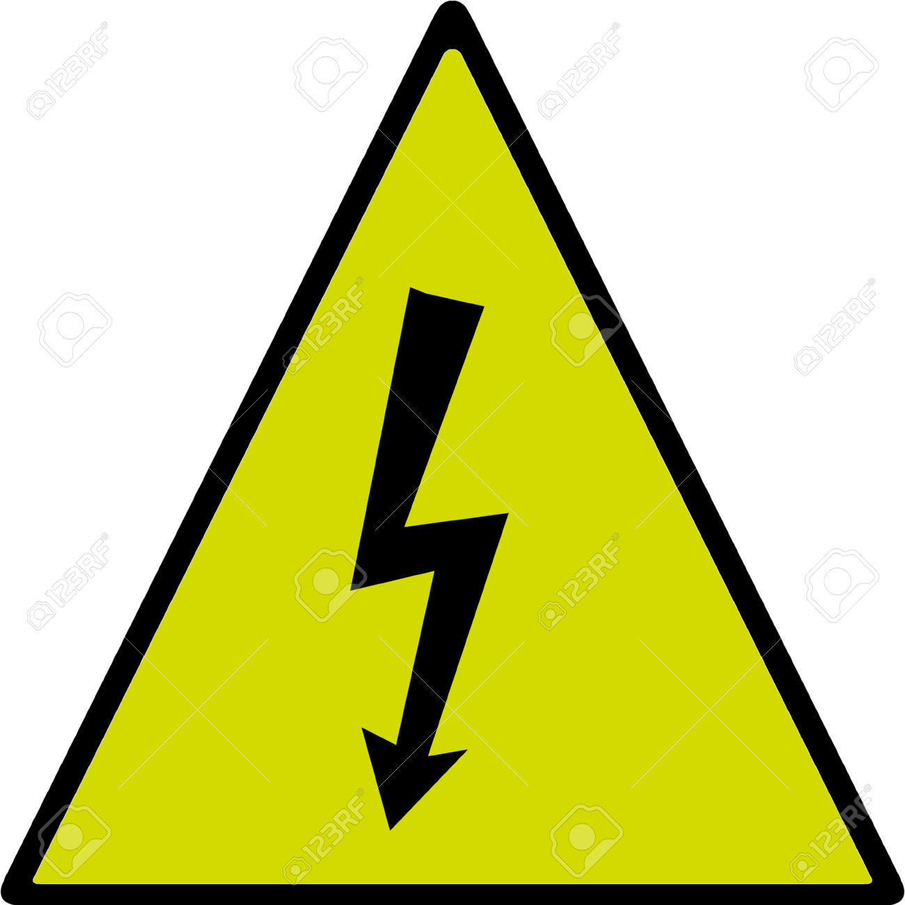 Clipart electric shock.