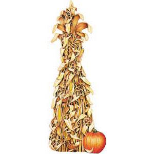 Corn shocks clipart.