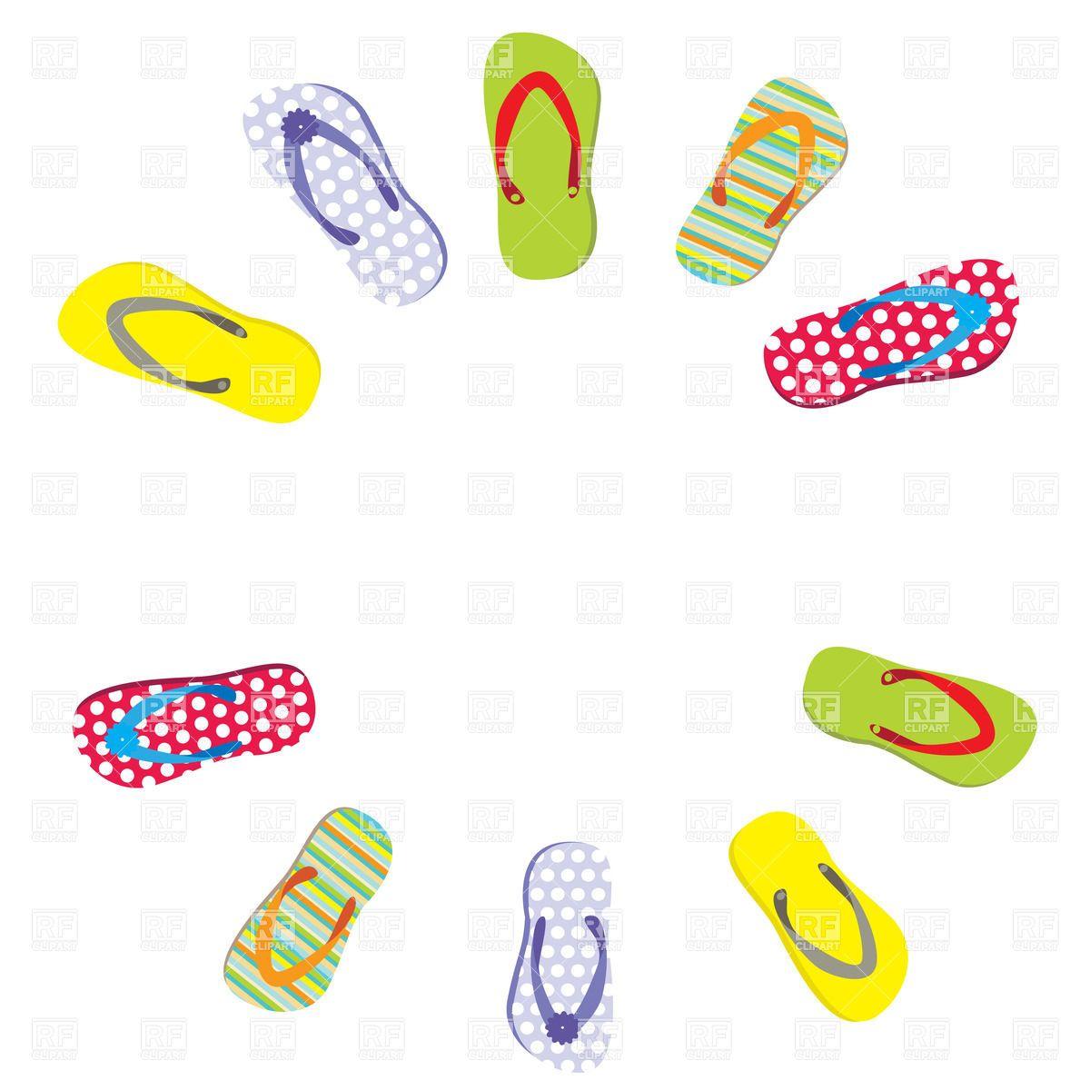 freeclip art flip flop.