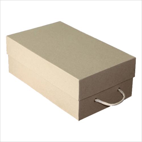 Cardboard Shoe Box.