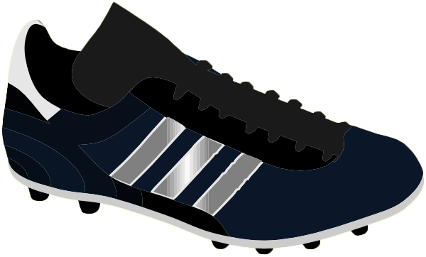 Sport shoes clipart #4