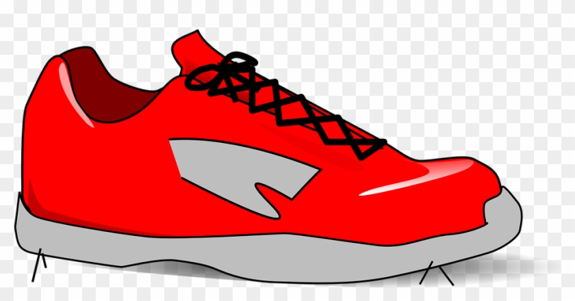 Gym Shoes Clipart Red Shoe Free Clipart On Dumielauxepices.
