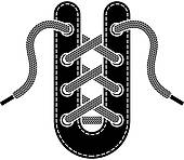 Shoe Laces Clip Art.